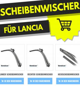Lancia Phedra Scheibenwischer (Wischerblätter) + Heckscheibenwischer