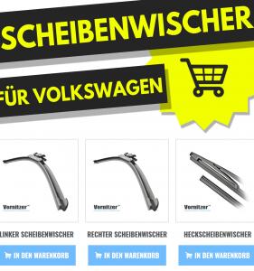 VOLKSWAGEN (VW) T-CROSS Scheibenwischer (Wischerblätter) + Heckscheibenwischer
